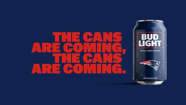 Bud Light's Popular NFL Team Cans Return with New Minimalist Design