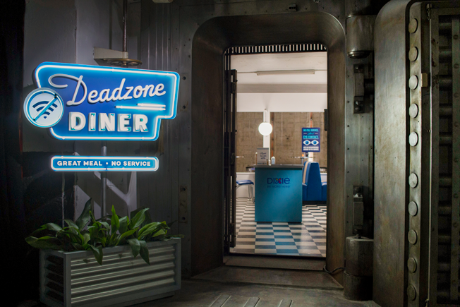Dixie Builds Diners in Dead Zones to Help Friends & Families Reconnect