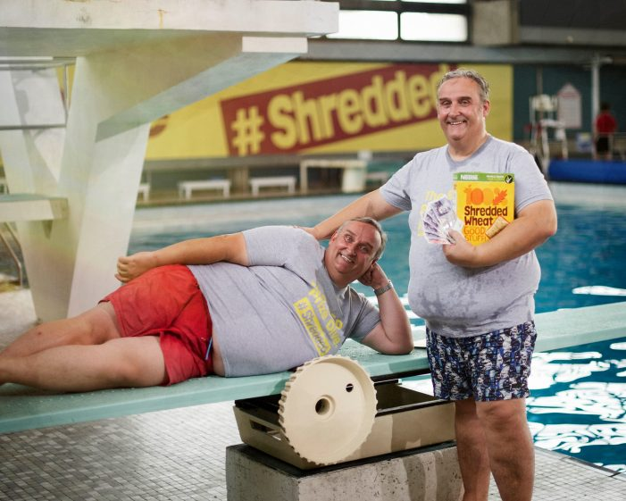 Shredded Wheat Give Consumers Chance to 'Shred Life' & Win £150 in Diving Competition
