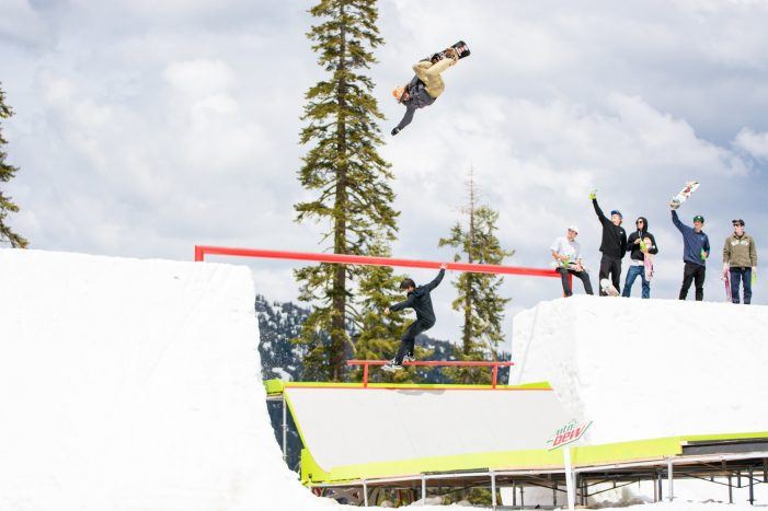Mountain Dew Unveils SuperSnake – A Hybrid Snowboard and Skateboard Dream Course on Snow