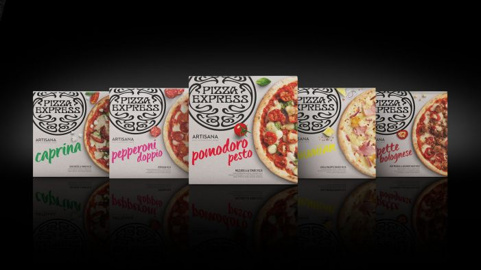 Bulletproof Designs PizzaExpress' New Artisana Range