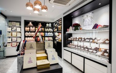 Charbonnel et Walker's Canary Wharf Store Gets a Fresh New Look