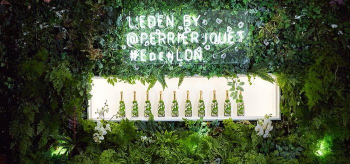 L'Eden by Perrier-Jouët: Interactive Lifestyle Experience Comes to London