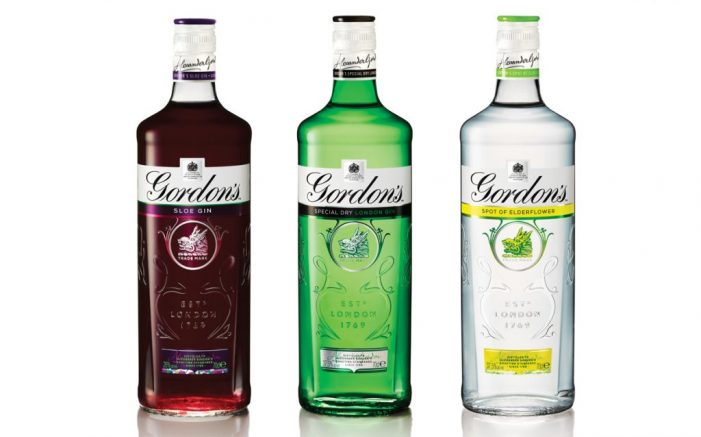 Gordon's Gin Reveals New Packaging Design by Design Bridge
