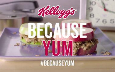Kellogg's & Leo Burnett London Launch 'Because Yum' Films On Social Media