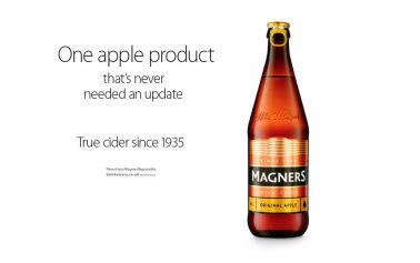 Magners Takes a Pop at Apple with Cheeky New Ad by Fold7