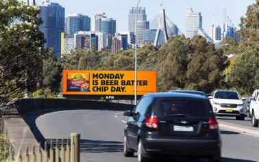 McCain Uses the Power of Digital Outdoor to Say Every Day is Beer Batter Chip Day