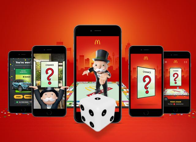 McDonald's Unveils World-First Mobile Experience with the Monopoly Game