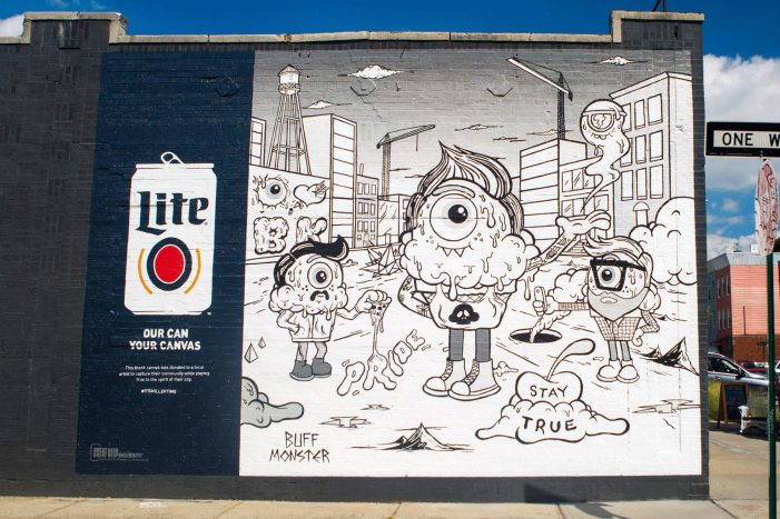 Miller Lite Launches New Mural Initiative In Brooklyn