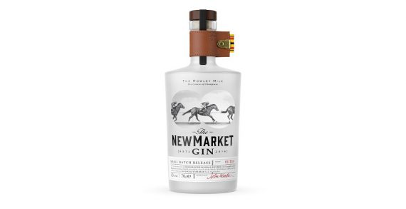 The Newmarket Gin scoops gold at the Harpers Design Awards
