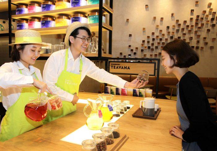 Starbucks Unveils New Tea Experience in Asia with Teavana