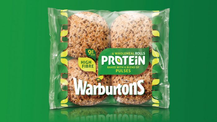 Warburtons Unveil New 'Protein' Range with Packaging Design by Bulletproof