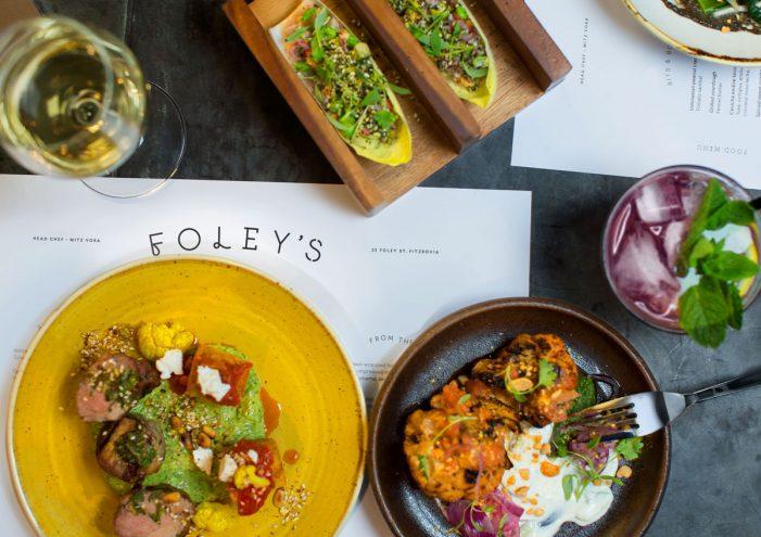 Ragged Edge Creates Disruptive Brand for New London Restaurant Foley's