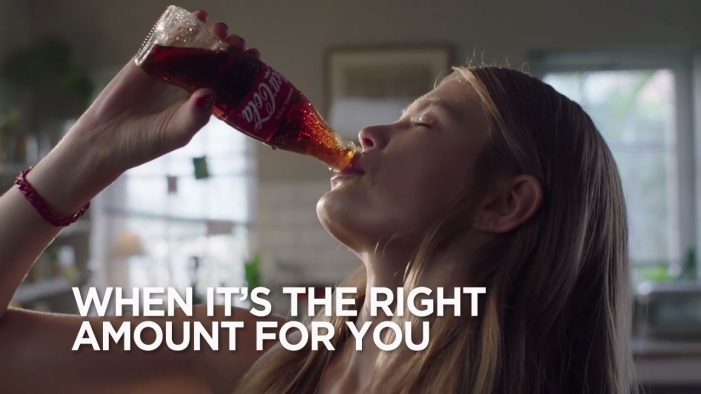 Coca-Cola Encourages Consumers To Decide The 'Right Amount' For Them