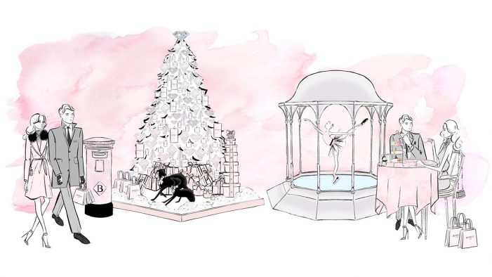 The Savoy Unveils Dreaming of a Pink Christmas with Boodles & Featuring the Louis Roederer Ice Rink