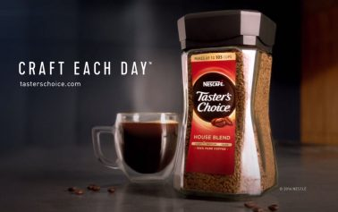 "Nescafé Taster's Choice Challenges Premium Coffees with ""Craft Each Day"""
