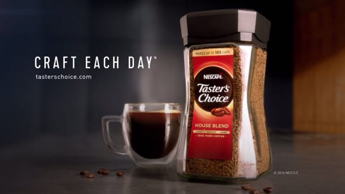"""Nescafé Taster's Choice Challenges Premium Coffees with """"Craft Each Day"""""""