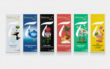 B&B Studio Brews up New Look for Nestlé Premium Tea Capsule Brand SPECIAL.T