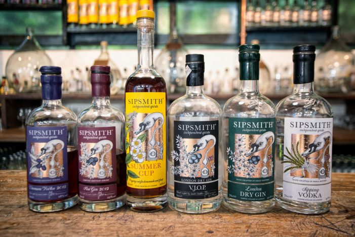 Ogilvy & Mather London Appointed by Sipsmith Independent Spirits