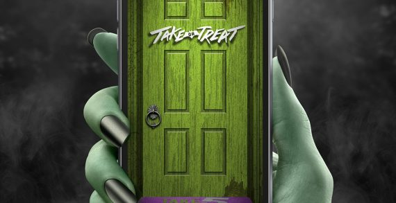 Barkley Brings Trick-or-Treating to Your Mobile for Hershey's TAKE5
