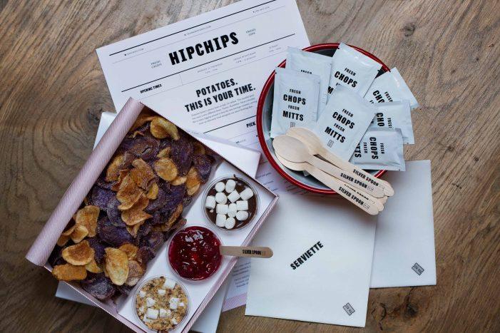 Ragged Edge Creates Brand Identity For London's First Gourmet Crisps Restaurant – HIPCHIPS