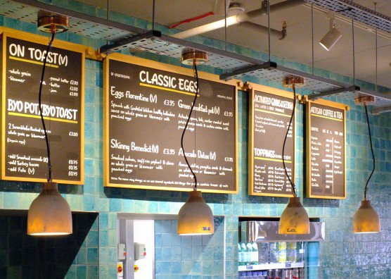 2523f 2 Column Grateful Kitchen Menu Boards Fab News