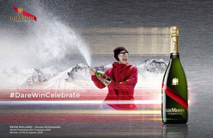 Maison Mumm Team with Kevin Rolland to Launch the Snowstorm by Mumm Platform