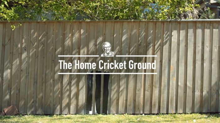 KFC Asks Aussies for Highlights to Kick Off the Home Cricket Ground's Third Season