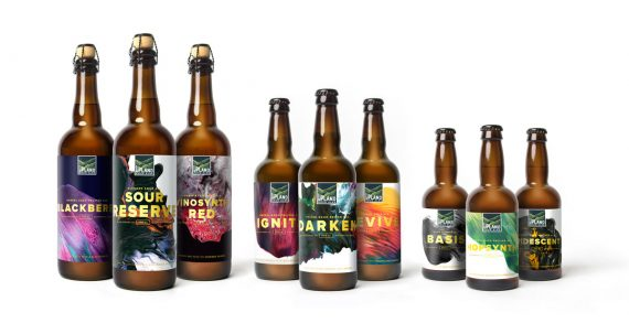 Upland Brewing Company Unveil New Look and Campaign for their Sour Ales