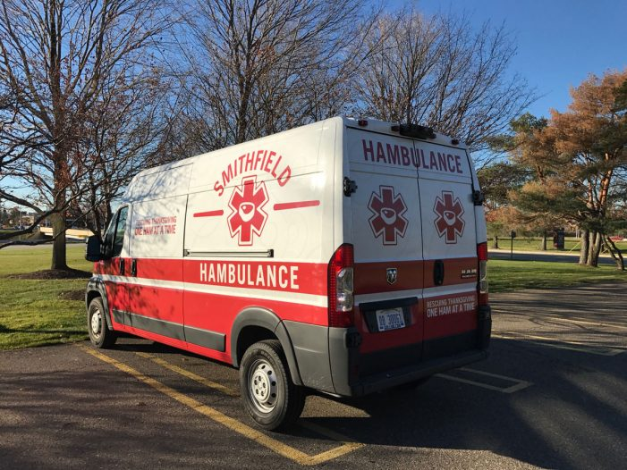 "Smithfield Launches Tech-Enabled ""Hambulance"" to Rescue Thanksgiving Turkey Tragedies"