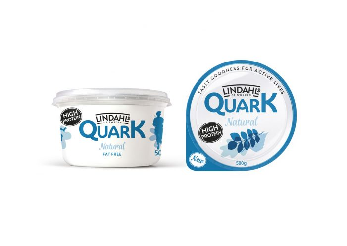 Lactalis Brings Swedish Quark Brand Lindahls to the UK