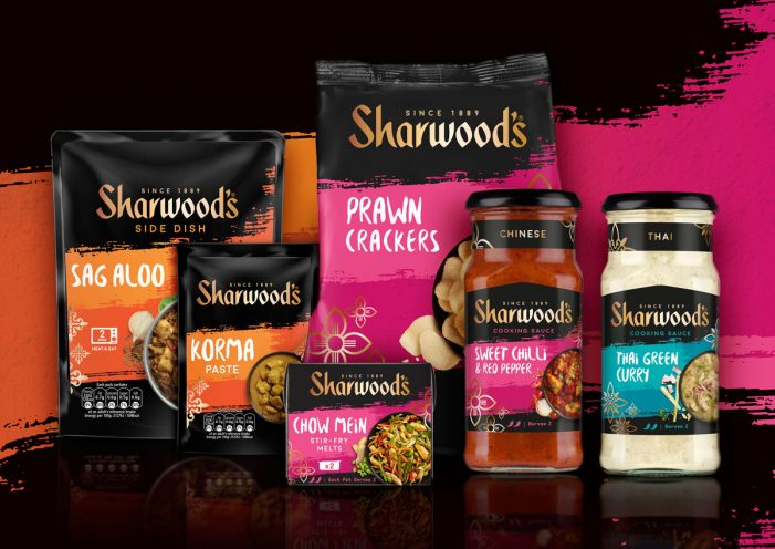 Premier Foods Team with Coley Porter Bell to Unveil New Look for Sharwoods