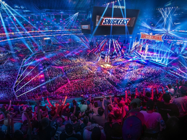 Snickers Returns to WrestleMania After Scoring 1.5 Billion Brand Impressions