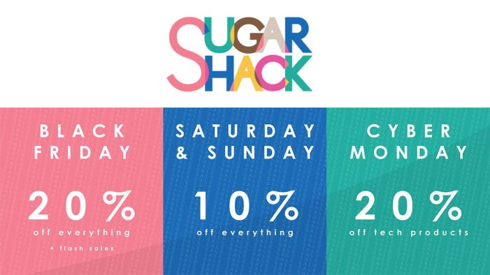 Sugar Shack Announces New Black Friday Deals in the UK