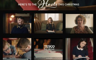 Tesco Say 'Here's to the Hosts' in Heartfelt Public-Led Christmas Campaign