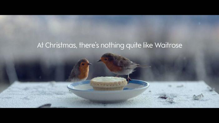 Adorable Robin Journeys #HomeForChristmas in New Waitrose Christmas Ad