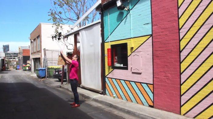 foodora Delivers Top Melbourne Retailers Lunch via Drones in Experiential Campaign