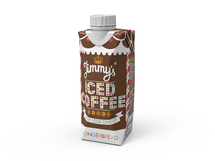 Jimmy's Iced Coffee Keeps it Chilled this Christmas with New Gingerbread Flavour