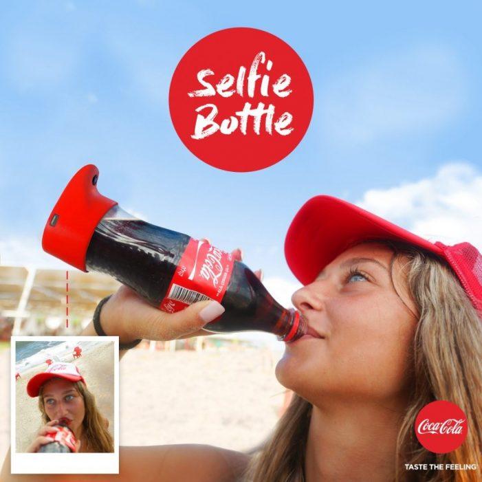 Coca-Cola Eyes Social Media Friendly Selfie Bottle