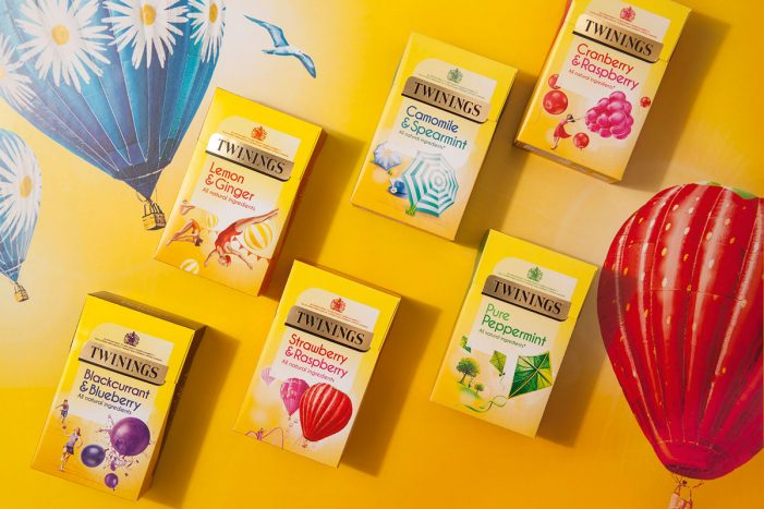 Twinings Reignites Fruit and Herbal Teas with New Range Redesign by BrandOpus