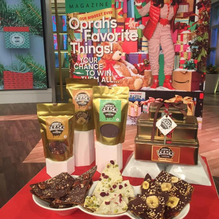 Biggies Crack Toffee Gets Seal of Approval from Oprah and The View