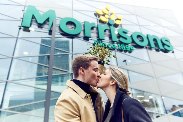 Morrisons Launches Nationwide Initiative to get Brits Kissing Again