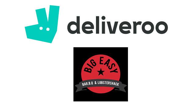 Big Easy Strikes Partnership with Deliveroo