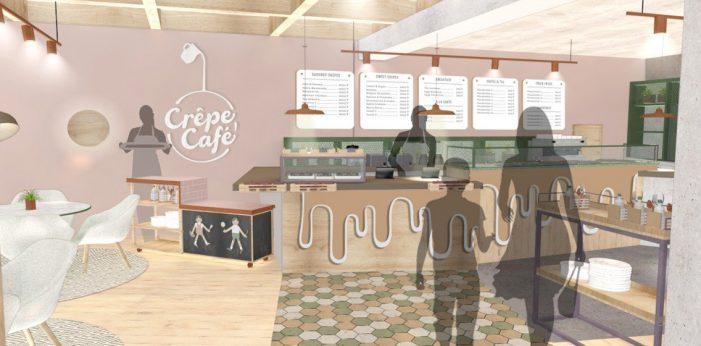 Mystery Bring European Lifestyle to Kazakhstan with Crêpe Café Design