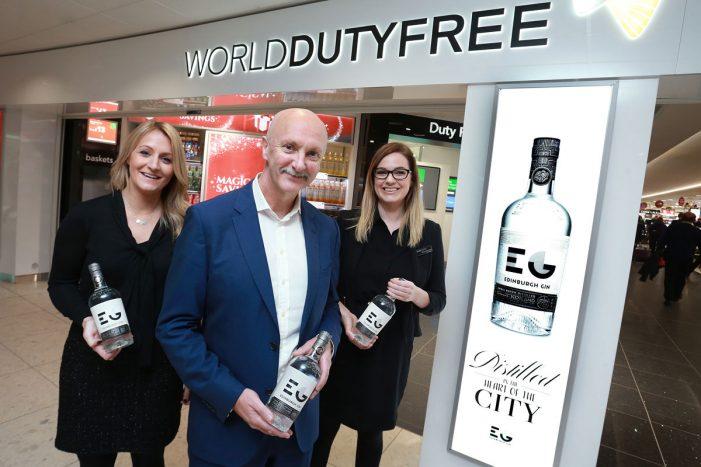 Edinburgh Gin Flying High with World Duty Free