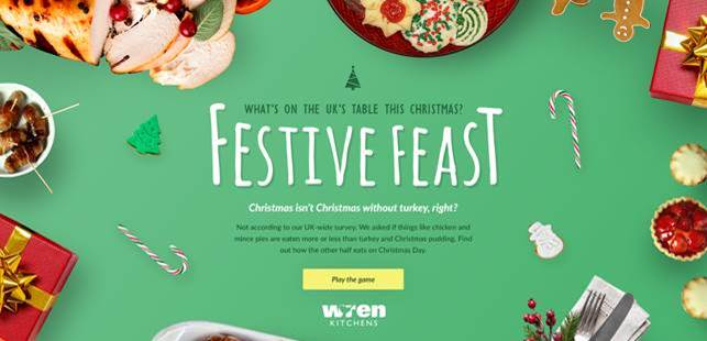 Wren Kitchens: Brits Eat Three Days' Worth of Calories on Christmas Day
