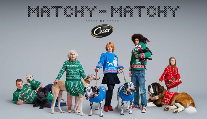 Dogs are Getting Involved in the Festive Fun in New Campaign from AMV BBDO