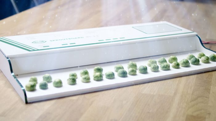 Have a Merry Sproutmas with the World's First Sprout-Powered Musical Instrument