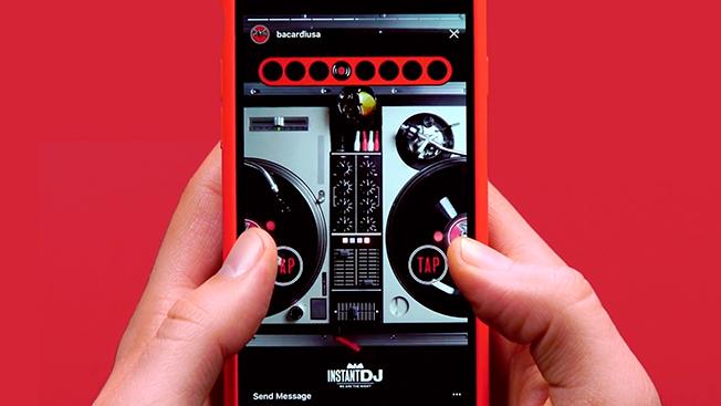 Bacardi and Swizz Beatz Create a New Kind of DJ Experience on Instagram