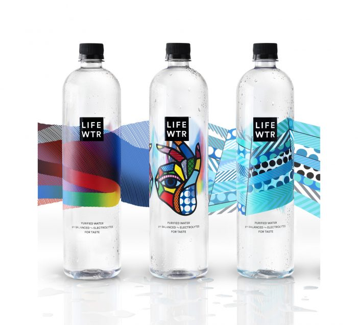 PepsiCo Unveils LIFEWTR, a Premium Bottled Water Featuring Captivating Label Designs by Emerging Artists